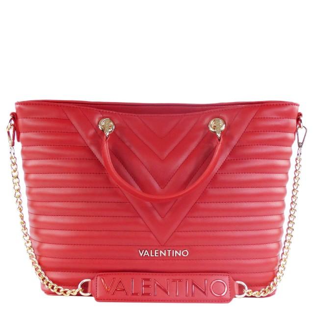 VALENTINO BAGS Cajon Handtasche / Shopper Rot