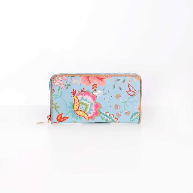 Oilily Color Bomb L Zip Wallet Turquoise